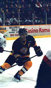 Mike Zigomanis - hockey star of the Kingston Frontenacs