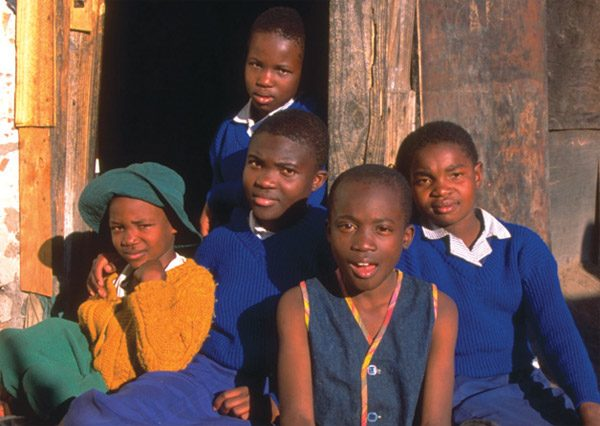 Africa aids orphans