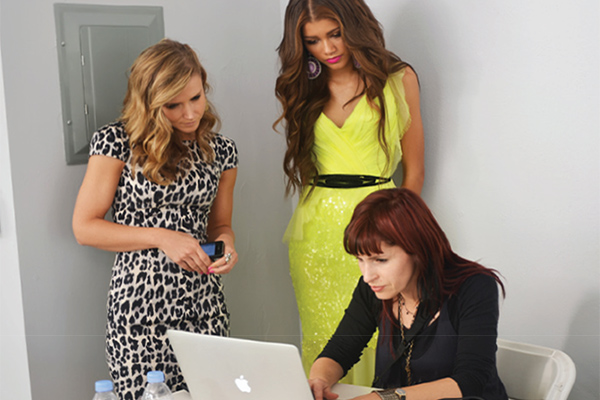Zendaya Faze photostop in LA with Dana Krook