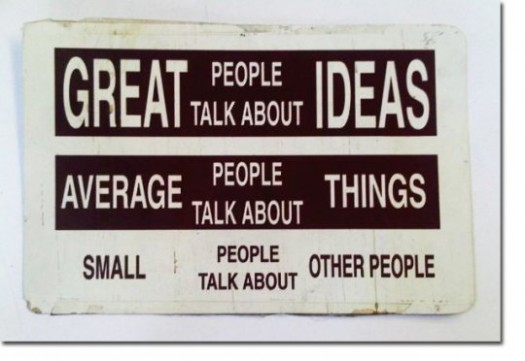 great people discuss ideas