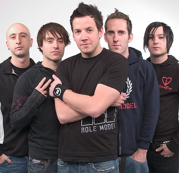 Simple Plan - Faze Photoshoot