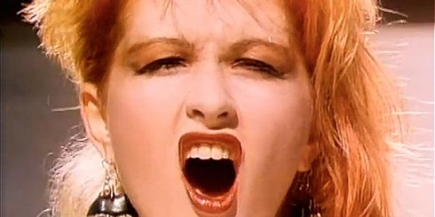 Cyndi Lauper Girls Wanna Have Fun