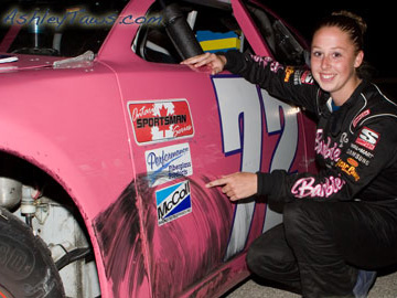 Ashley Taws - Racecar Barbie