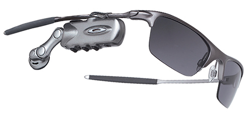 Motorola RAZRWIRE with Oakley sunglasses