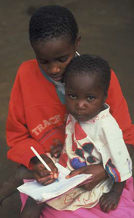 AIDS in Africa children, orphans