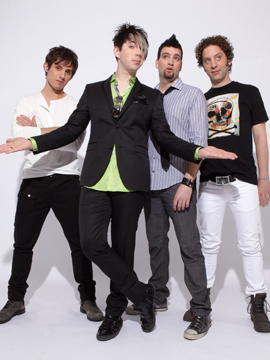 Marianas Trench on cover of Faze Magazine