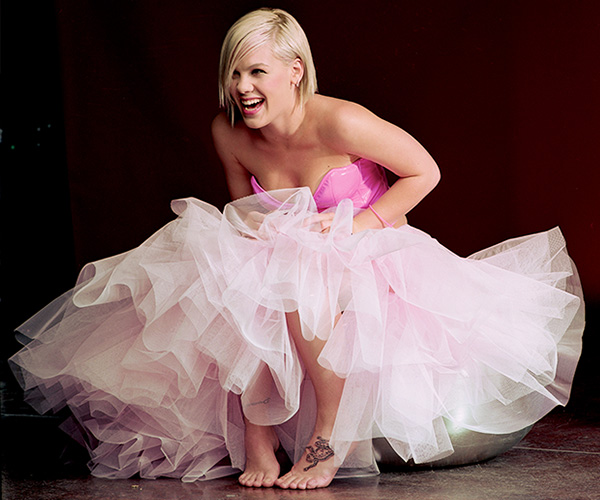 Singer Pink - P!nk Young