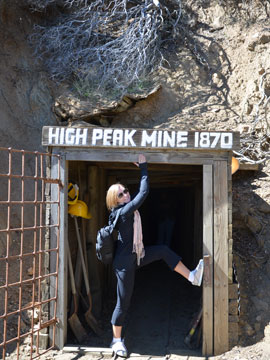 San Diego High Peak Gold Mine