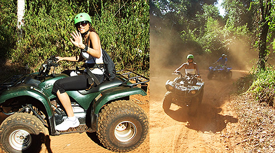 Iguazu Falls Argentina ATV jungle