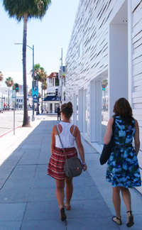 Los Angeles Rodeo Drive Cassy Knegt with Karissa Fowler