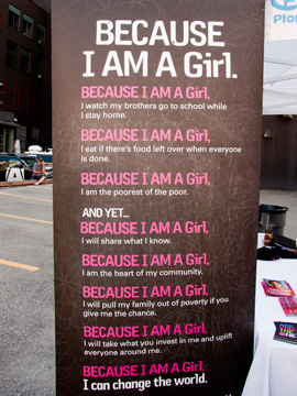 Because I Am A Girl Pink LemonAid Event