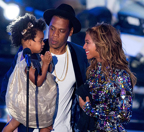Beyonce and Jay-Z Family