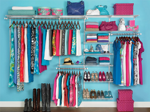 organization dream closet wardrobe