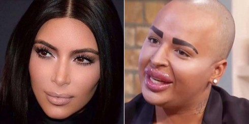 Jordan James Parke as Kim Kardashian