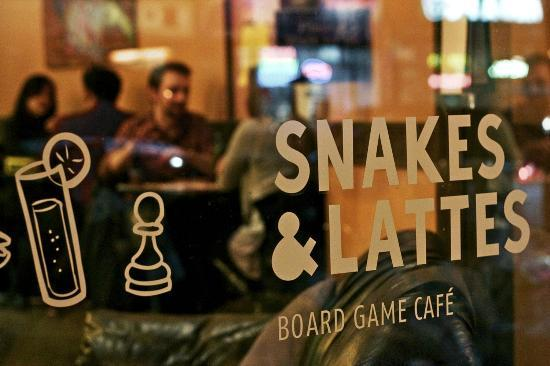 Snakes and Lattes Board Game Cafe