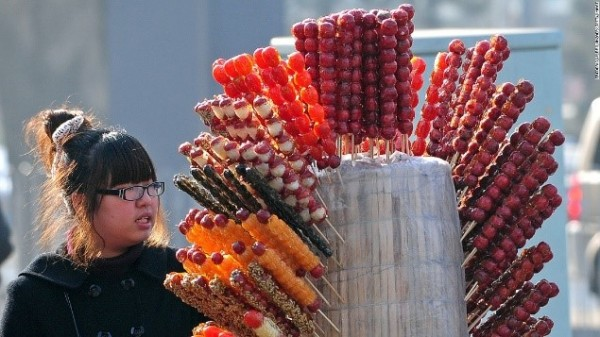 chinese candy apples