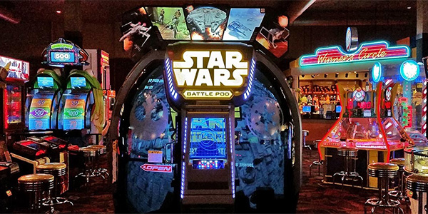 Adventurous Date Ideas - An Arcade Night
