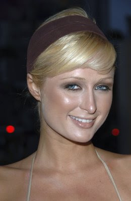 Paris Hilton, foundation, makeup fail, makeup, funny