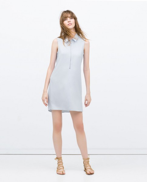 dress w: zip at the front