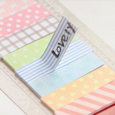 Pretty Patterened Sticky Notes