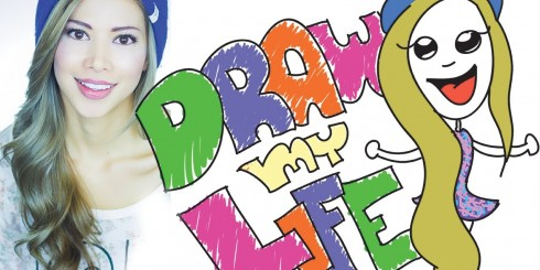 "Kassie Isabelle ""Draw my Life"" cover photo."
