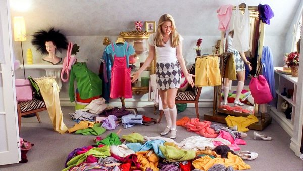 cleaning messy room