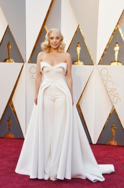 Lady Gaga, Oscars, dress