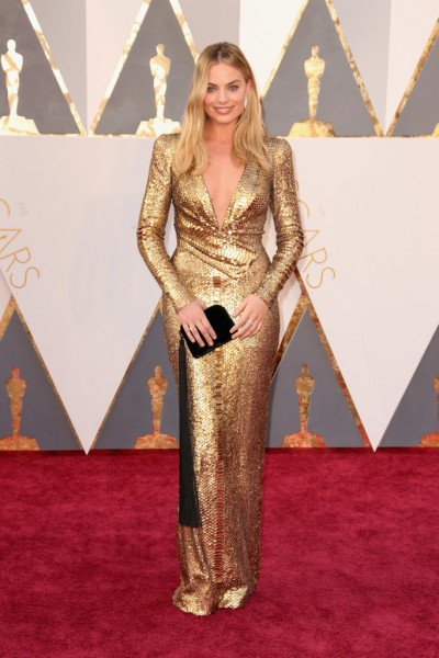 Margot Robbie, oscars, gold