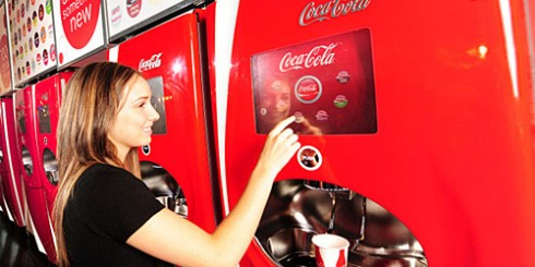 coca cola freestyle fountain