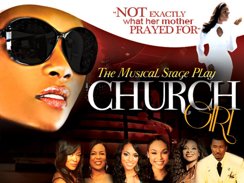 church girl poster