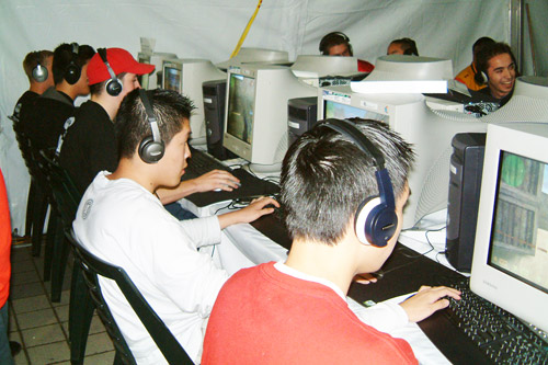 Cyber Celebrities? Cybergames-lan-party