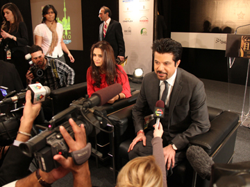 iifa Preity Zinta and Anil Kapoor