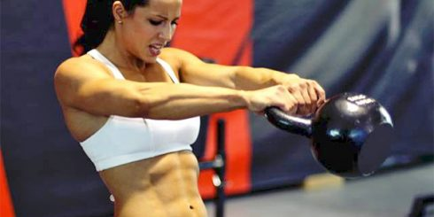 kettlebell swing no belly fat