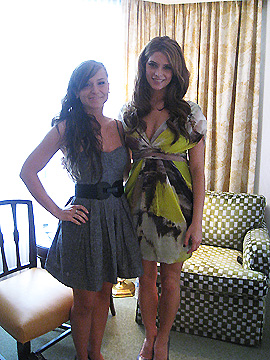 Ashley Greene and Faze girl Dana Krook