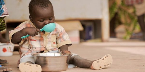 African Child Famine hungry