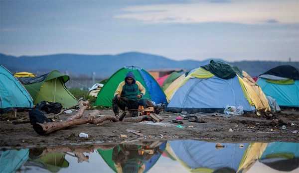 Idomeni refugee camp