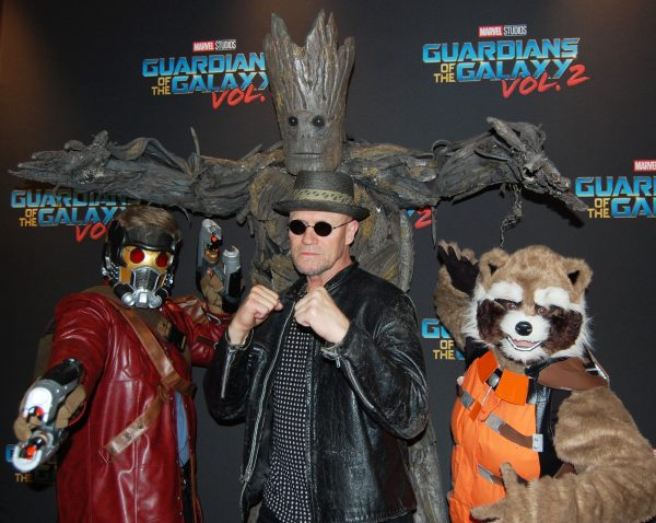 Michael Rooker and Guardians
