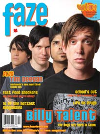 Issue 24 Billy Talent