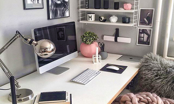 chic home office desk