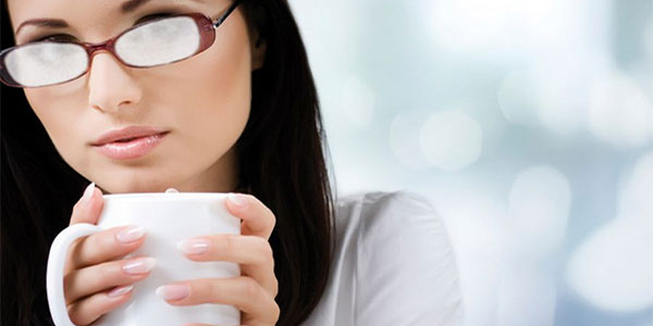 Coffee Fog Glasses Orthokeratology