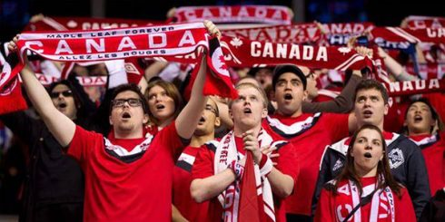 Soccer Football Canada Crowd