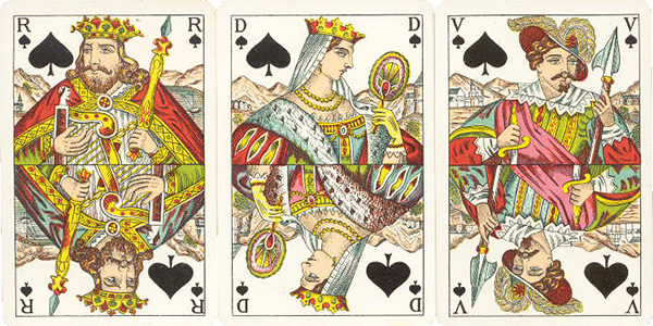 French Playing Cards Deck