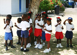 Tobago children