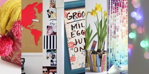 7 DIY Dorm Room Projects