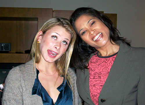 Lo Bosworth The Hills with Lorraine Zander