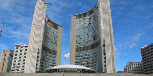 toronto city hall - concrete