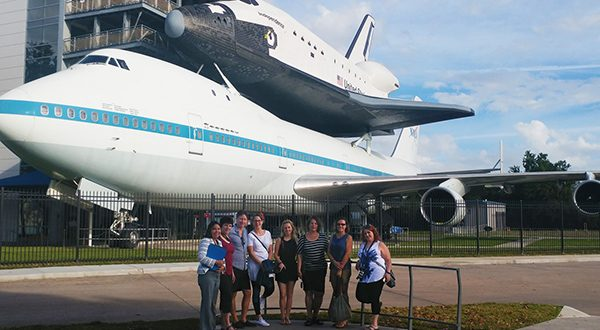 Houston Space Centre Shuttle