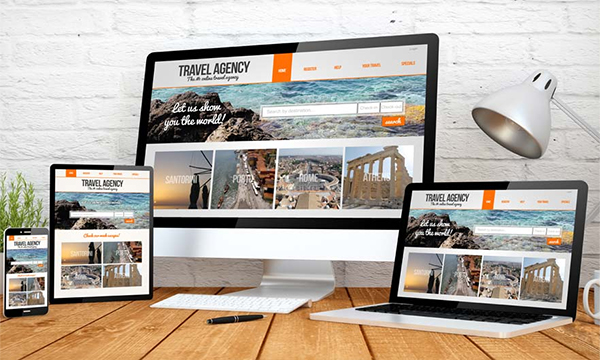 Travel Company Website SEO