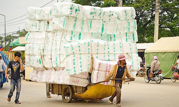 Off to market - China