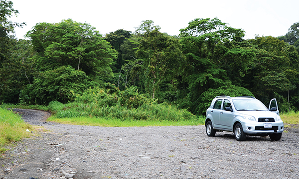 Costa Rica Toyota Rental car